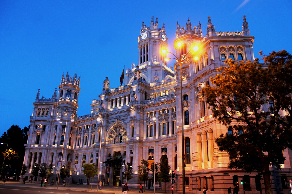 Madrid city of Spain