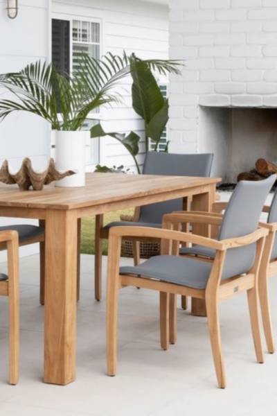 right outdoor furniture for your patio